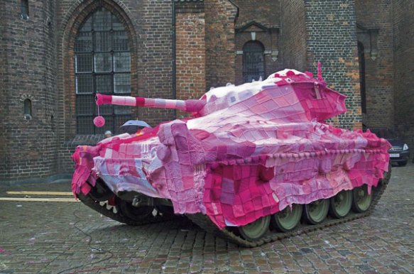 Copenhagan-Denmark-Tank-Yarn-Bombing